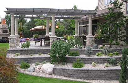 Backyard Patios Kitchens amp Gardens Designed By Landscape